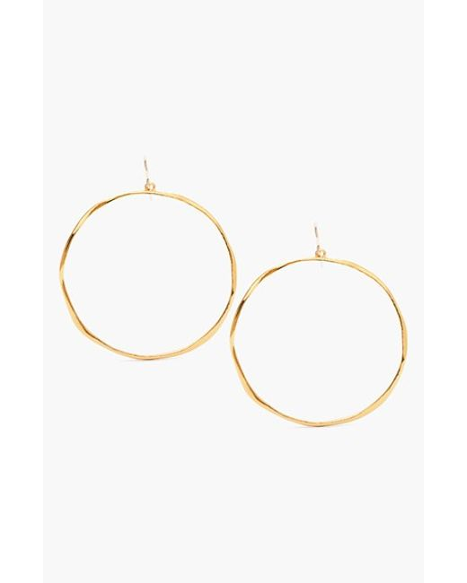 Gorjana | Metallic 'g Ring' Hoop Earrings | Lyst