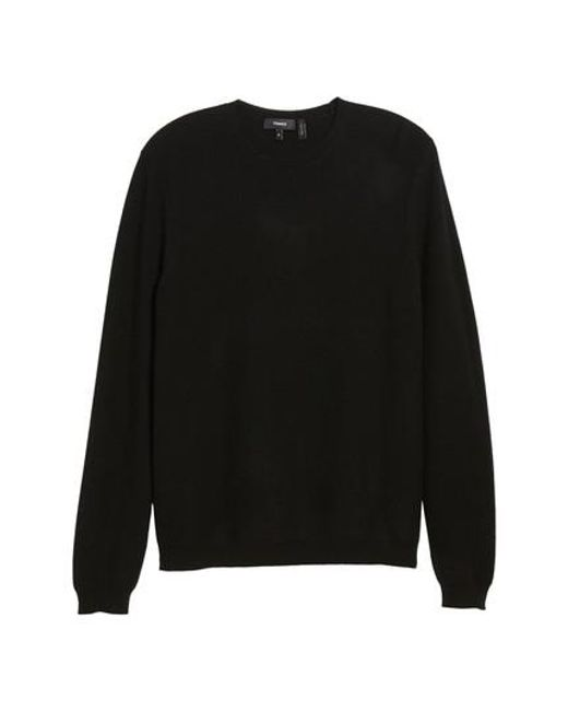 Theory Medin C Cashmere Crewneck Sweater in Black for Men | Lyst