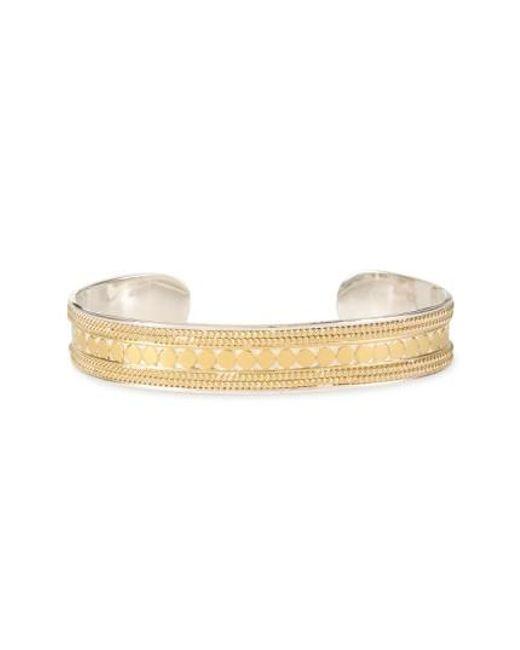 Anna Beck | Metallic 'gili' Skinny Cuff Bracelet | Lyst