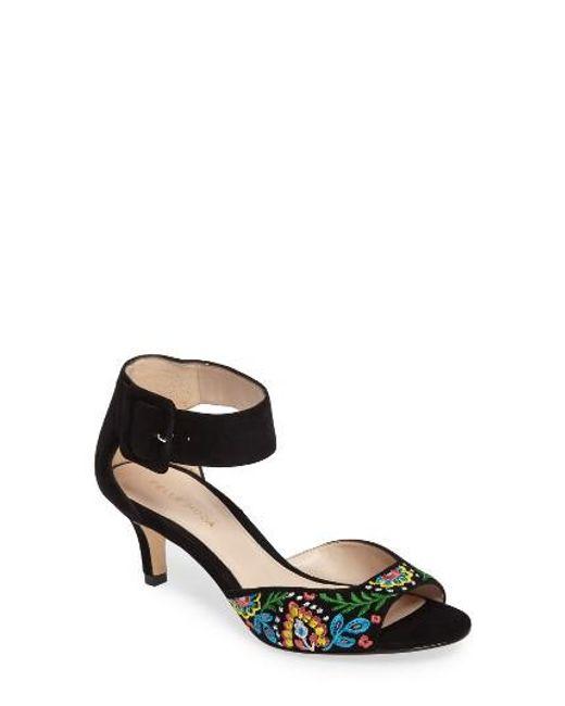 Pelle Moda | Black 'berlin' Sandal | Lyst