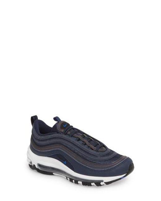Lyst - Nike Air Max 97 Sneaker in Blue 6eedcd5b6