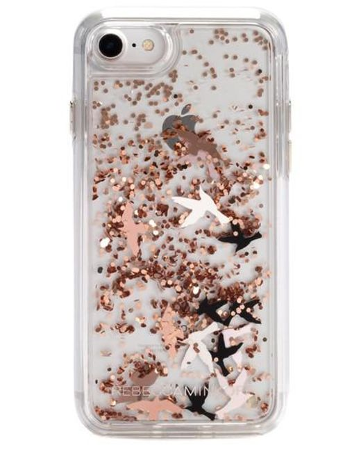 Rebecca Minkoff - Pink Birds Glitter Iphone 7/8 & 7/8 Plus Case - Lyst