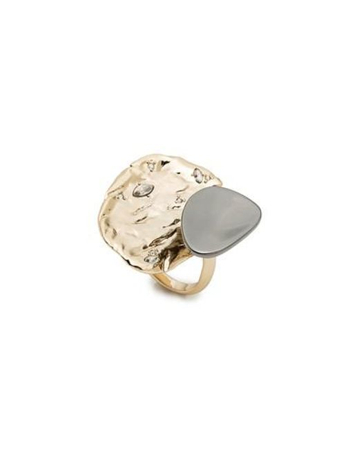 Alexis Bittar | Metallic Elements Crystal Accent Ring | Lyst