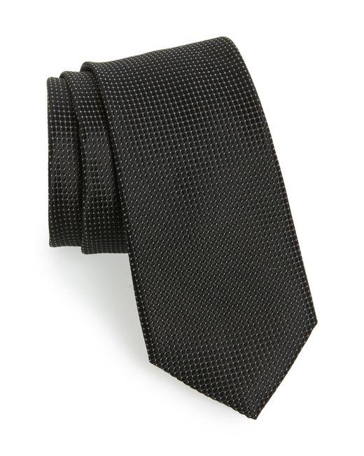 Ted Baker - Black Solid Silk Tie for Men - Lyst