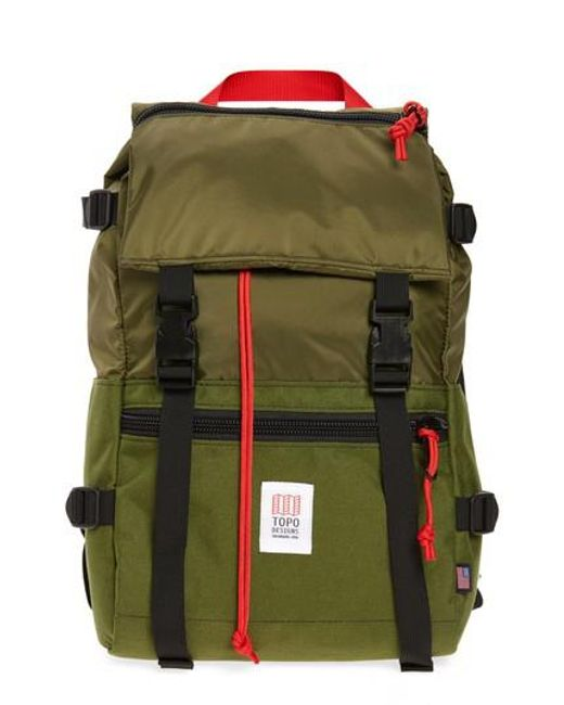 Topo Designs - Green 'rover' Backpack for Men - Lyst