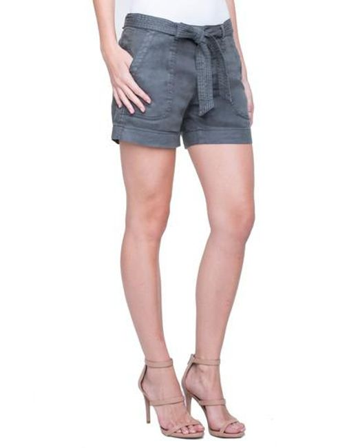Liverpool Jeans Company - Blue Kinley Stretch Linen Shorts - Lyst