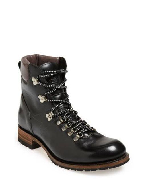 Sendra - Black 'alpine' Round Toe Boot for Men - Lyst
