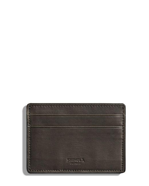 Shinola - Multicolor Leather Card Case for Men - Lyst
