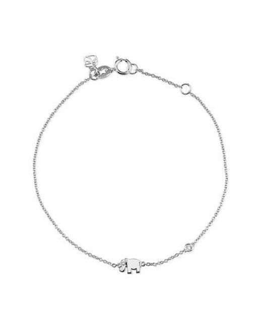 Shy By Sydney Evan - Metallic Infinity Chain Bracelet - Lyst
