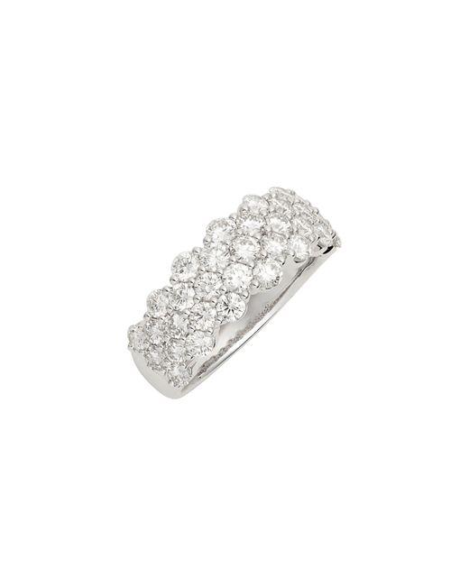 Bony Levy Metallic Luxe Three-row Diamond Ring (nordstrom Exclusive)