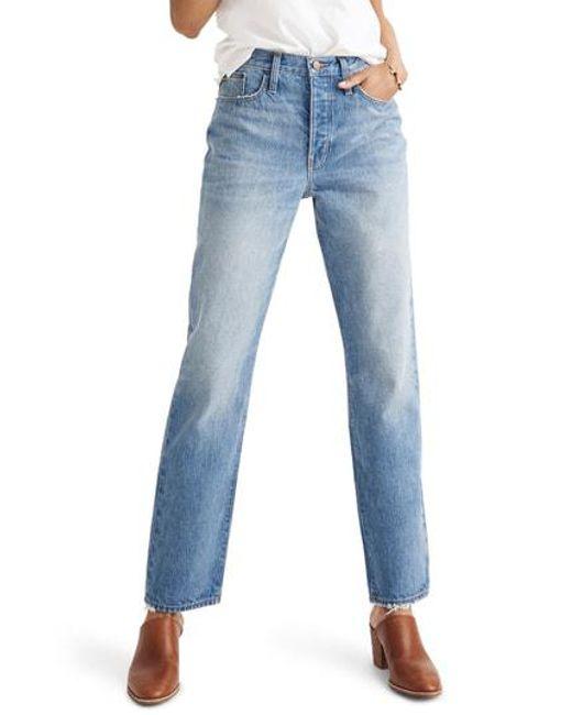 Madewell - Blue The Dadjean High Waist Jeans - Lyst
