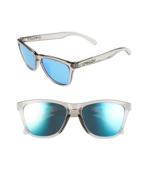 Oakley | Gray Frogskins 54mm Sunglasses | Lyst