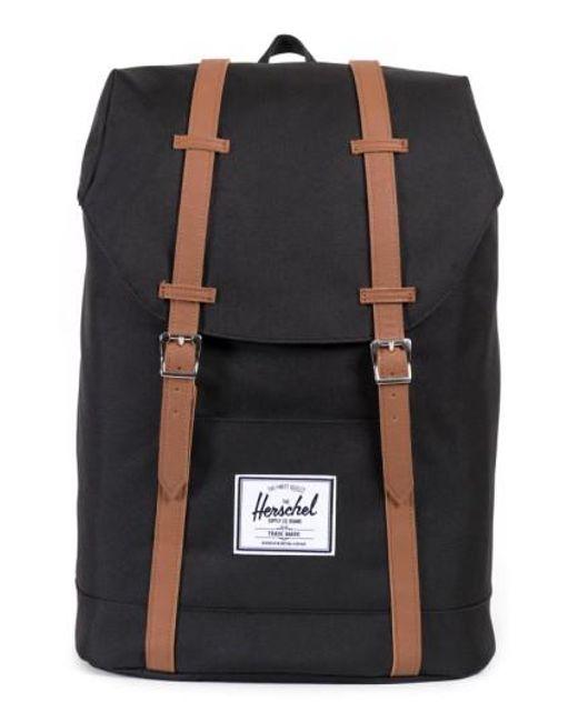 Herschel Supply Co. - Black 'retreat' Backpack for Men - Lyst
