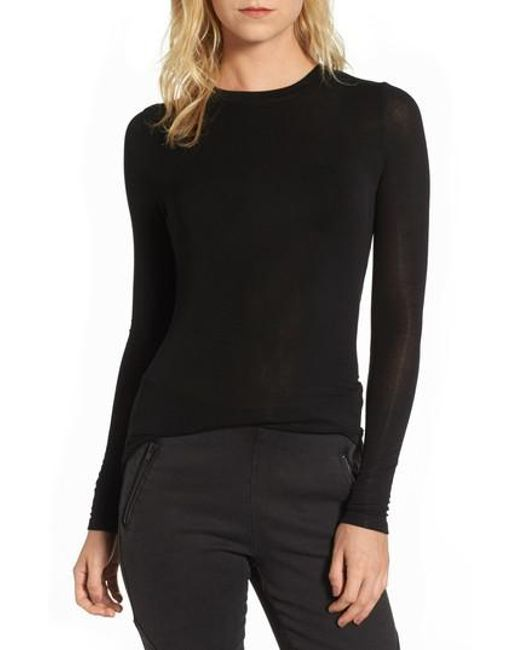 Trouvé | Black Layering Tee | Lyst