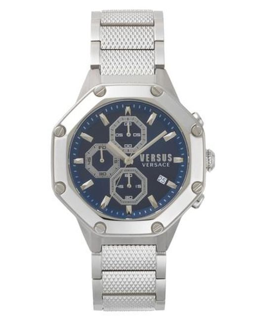 Versus  - Metallic Versus By Versace Kowloon Chronograph Bracelet Watch for Men - Lyst