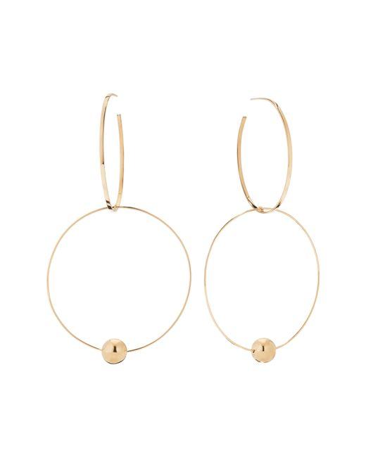 Lana Jewelry - Metallic Bond Link Double Hoop Earrings - Lyst
