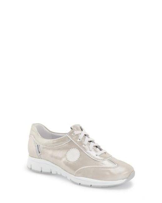Mephisto   Gray 'yael' Soft-air Sneaker   Lyst