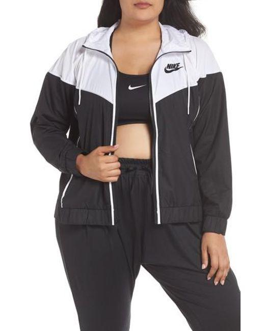 ddf7af808c Lyst - Nike Sportswear Windrunner Jacket in Black