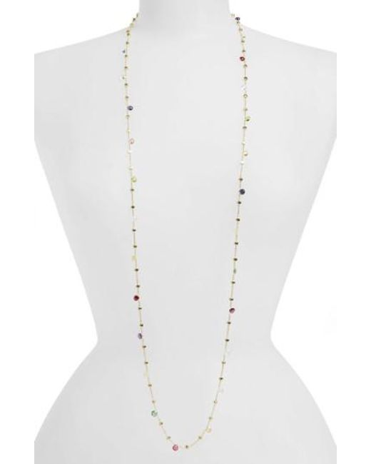 Marco Bicego | Yellow 'paradise' Semiprecious Stone Long Necklace | Lyst