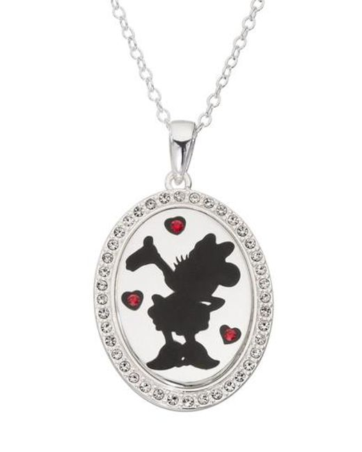 Disney - Metallic Minnie Mouse 'i Choose To Be Inspiring' Pendant Necklace - Lyst