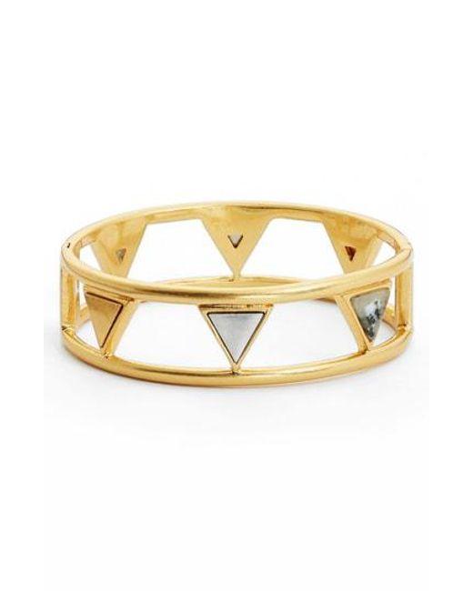 Madewell - Metallic Flagstone Bracelet - Lyst