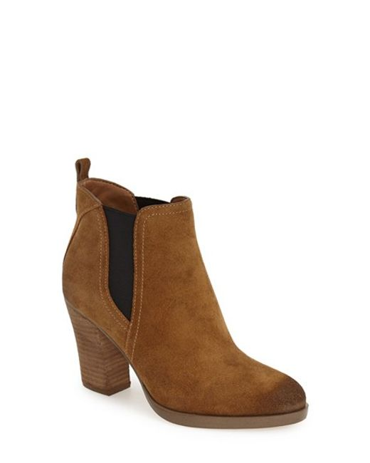 Marc Fisher | Brown 'mallory' Chelsea Boot | Lyst