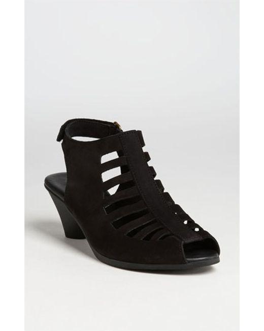 Arche | Black 'exor' Sandal | Lyst