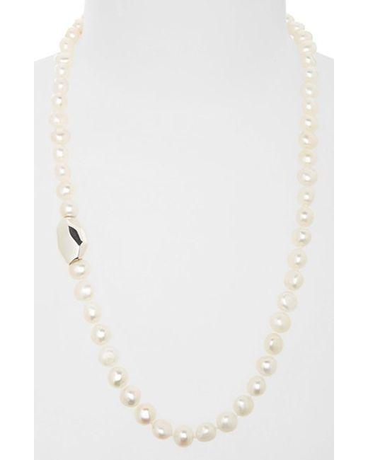 Simon Sebbag | White Beaded Necklace | Lyst