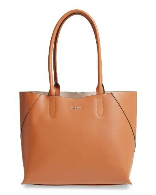 Lodis | Brown Blair Collection Cynthia Leather Tote | Lyst