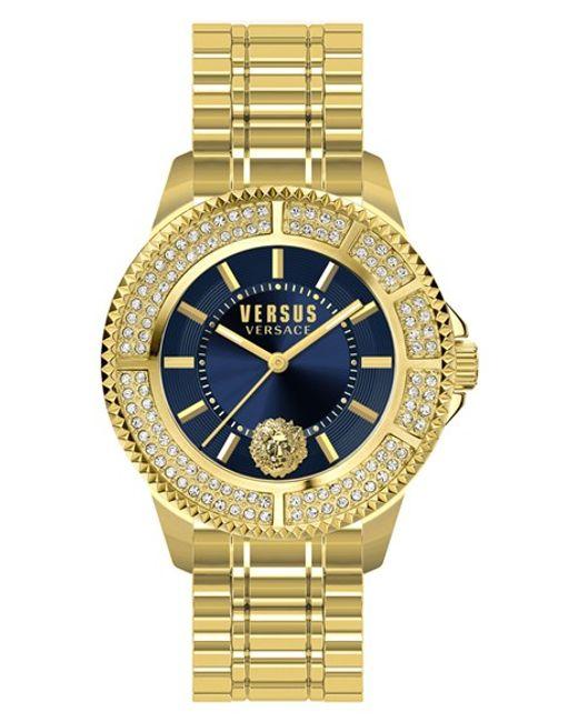 Versus | Metallic 'tokyo' Bracelet Watch | Lyst