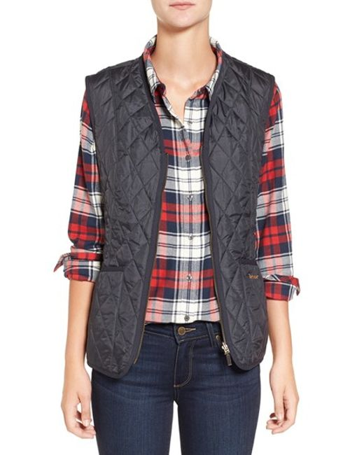 Barbour | Blue 'beadnell' Quilted Liner | Lyst