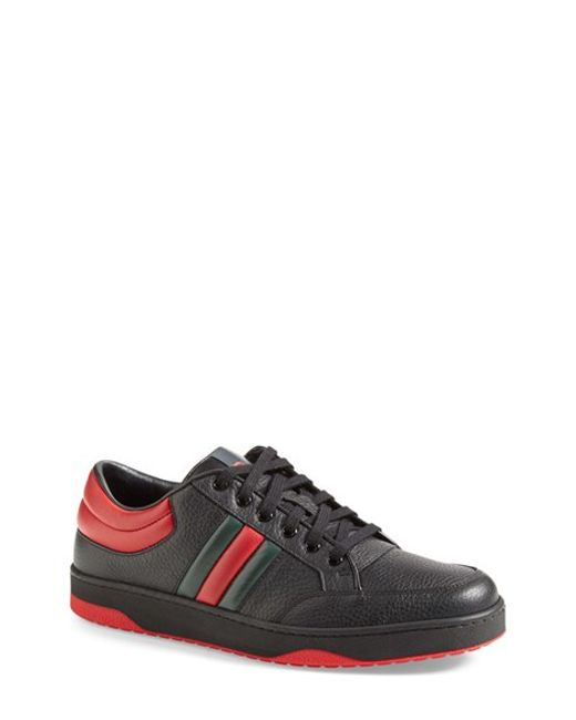 Gucci | Red 'ronnie' Low-top Sneaker for Men | Lyst