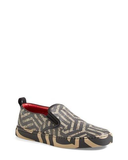 Gucci | Black Dublin Slip-on Sneaker for Men | Lyst