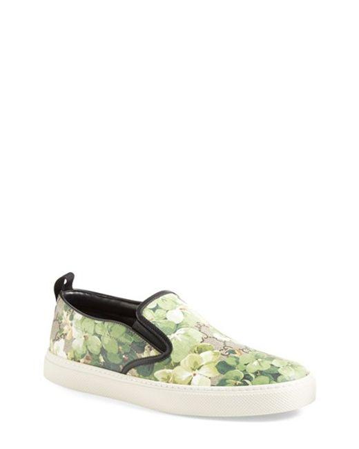 Gucci | Green Dublin Slip-on Sneaker for Men | Lyst