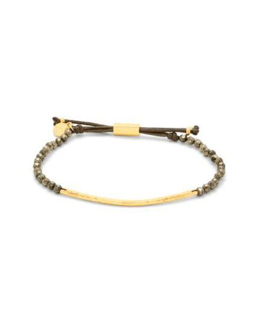 Gorjana | Metallic 'power Stone' Semiprecious Stone Bracelet | Lyst