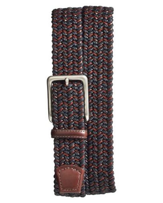 Torino Leather Company   Multicolor Woven & Leather Belt for Men   Lyst