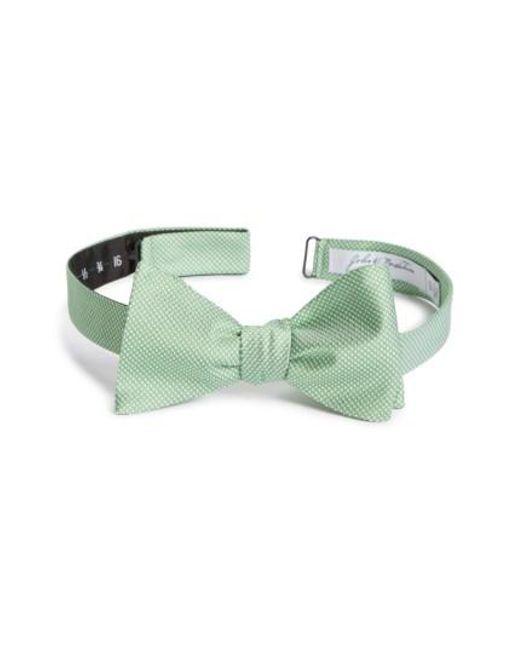 John W. Nordstrom | Green John W. Nordstrom Dot Silk Bow Tie for Men | Lyst