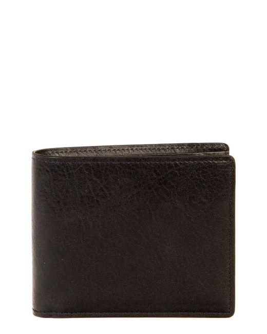 Boconi - Black 'becker' Rfid Leather Wallet for Men - Lyst