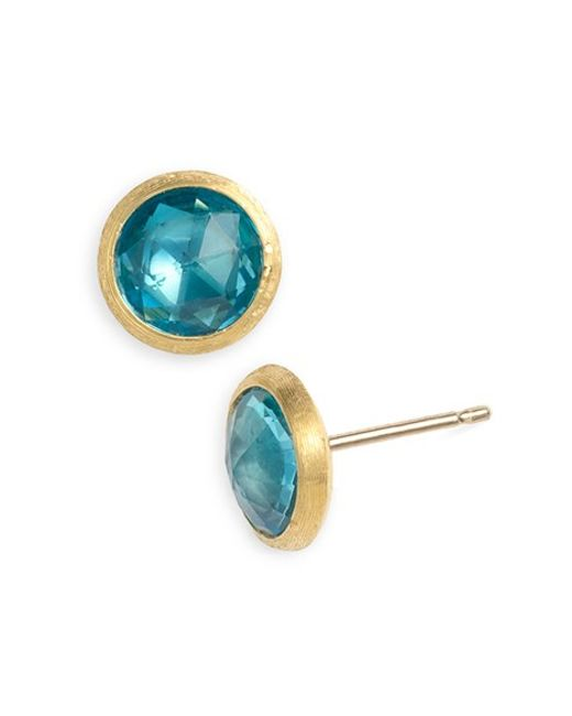 Marco Bicego | Blue 'jaipur' Stone Stud Earrings | Lyst