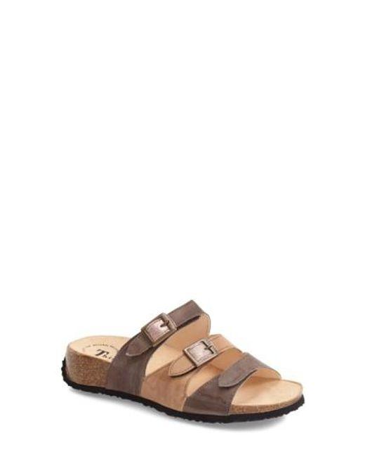 Think! | Brown ! 'mizzi' Sandal | Lyst