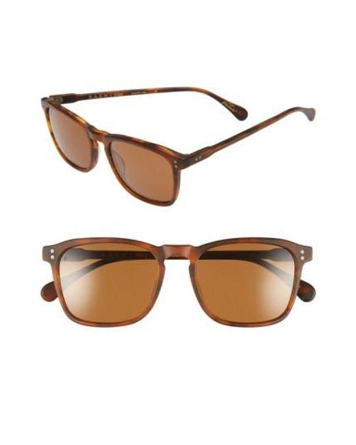 Raen | Black 'wiley' 54mm Sunglasses for Men | Lyst