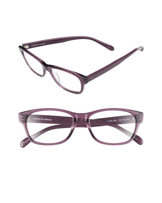 corinne mccormack zooey 53mm reading glasses lilac in