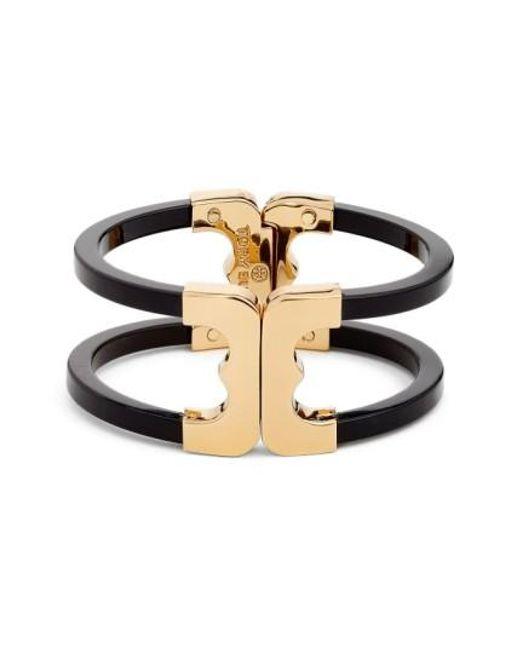 Tory Burch | Metallic 'gemini' Openwork Bracelet | Lyst