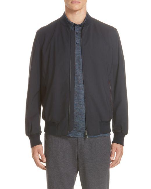 Ermenegildo Zegna - Blue Trofeo Wool Jacket for Men - Lyst
