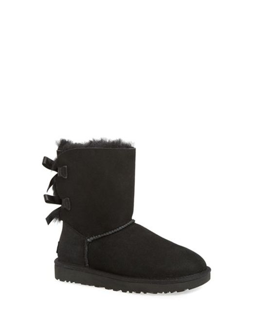Ugg | Multicolor Mini Bailey Striped Bow-Back Boot | Lyst