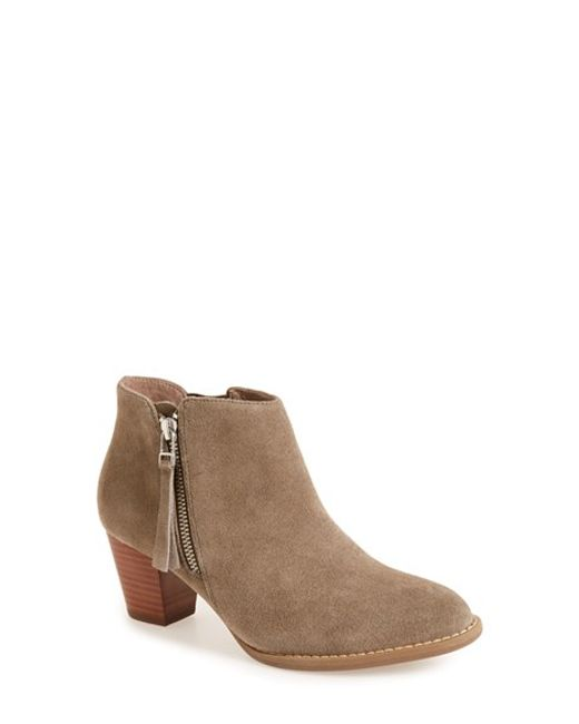 vionic sterling boot in brown lyst