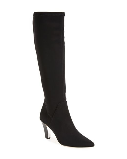 Donald J Pliner | Black 'Tessa' Knee High Boot | Lyst