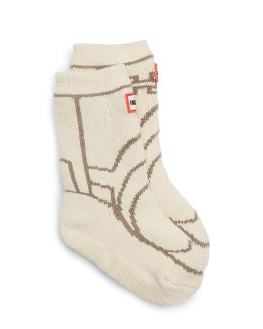 Hunter - Black Original Boot Slipper Socks for Men - Lyst