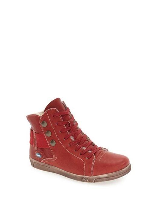 Cloud | Red 'aline' Sneaker | Lyst