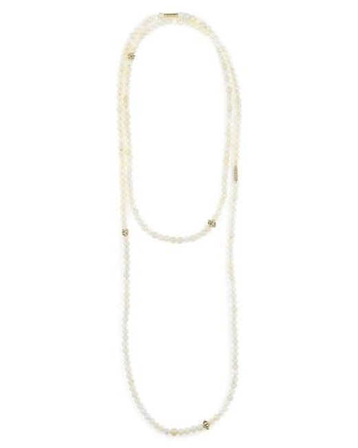 Lagos   Metallic Caviar Icon Multistrand Necklace   Lyst